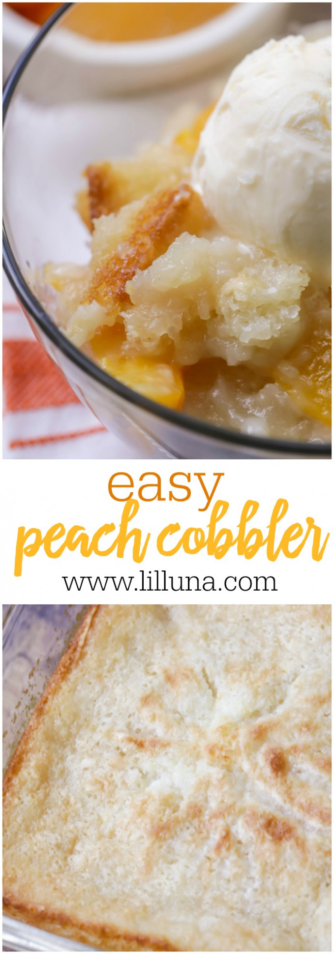 EASY Peach Cobbler - Just 5 Minute Prep Time! (+VIDEO ...