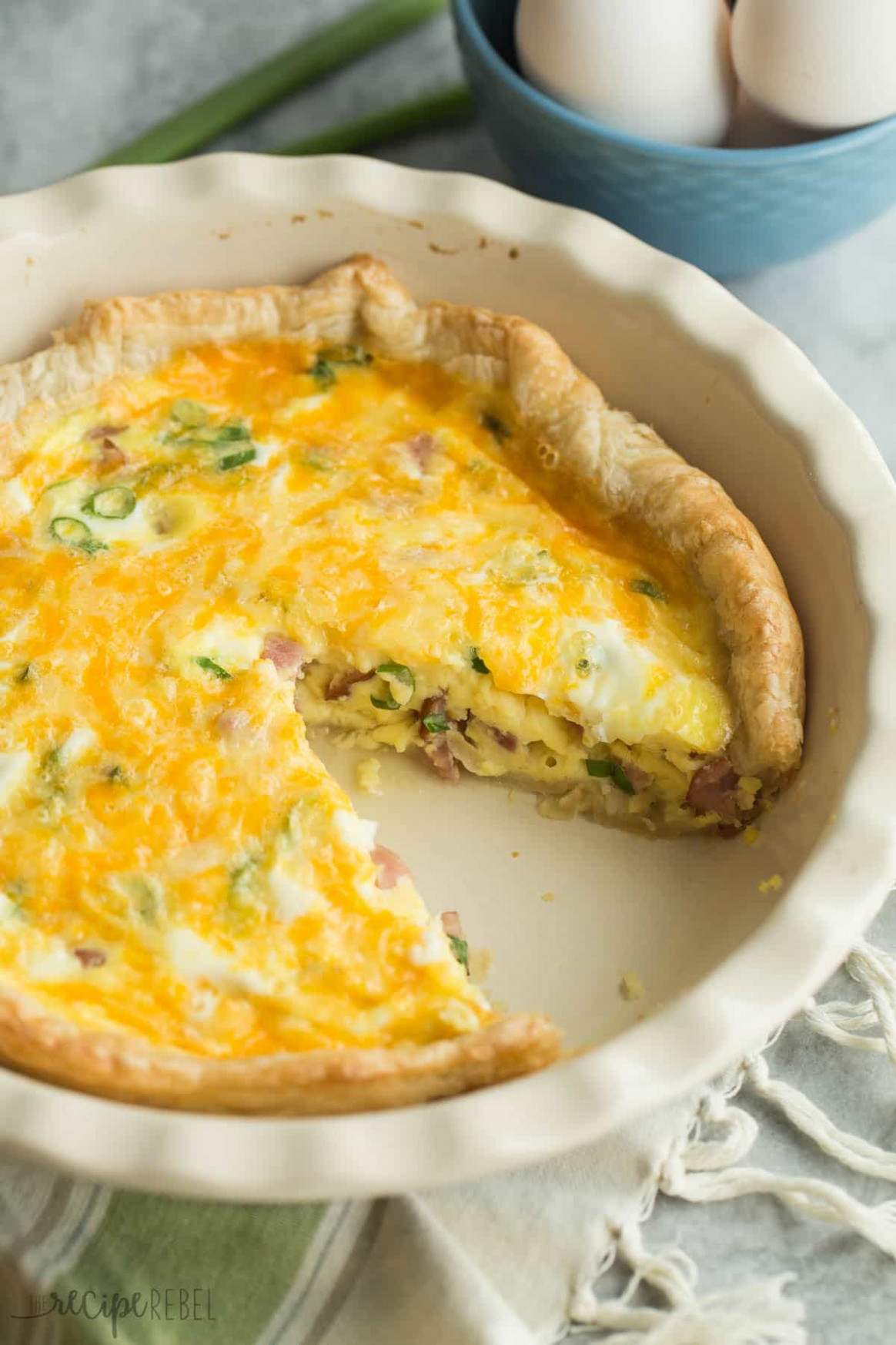 easy quiche recipes with pie crust