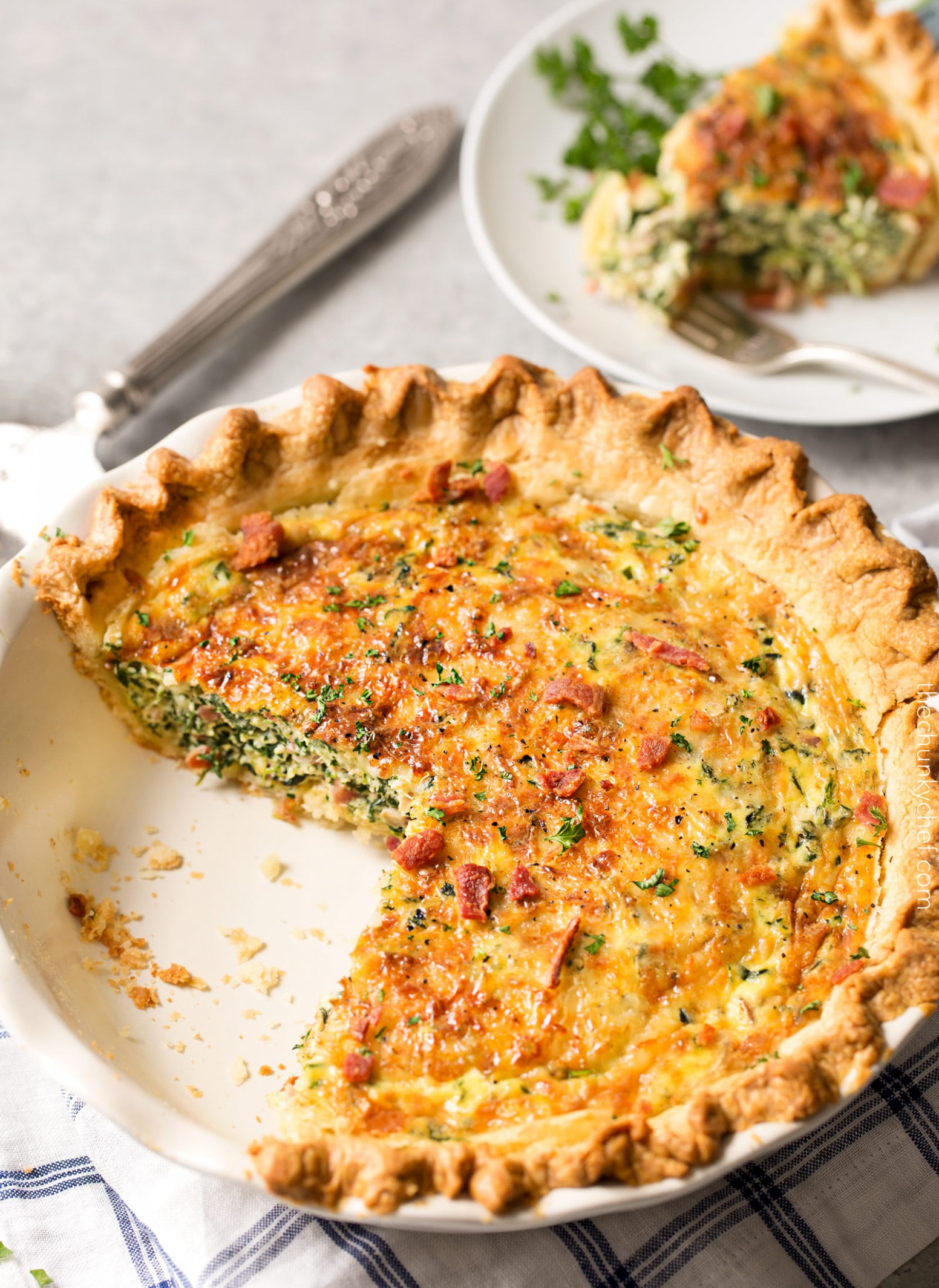 easy quiche with frozen pie crust