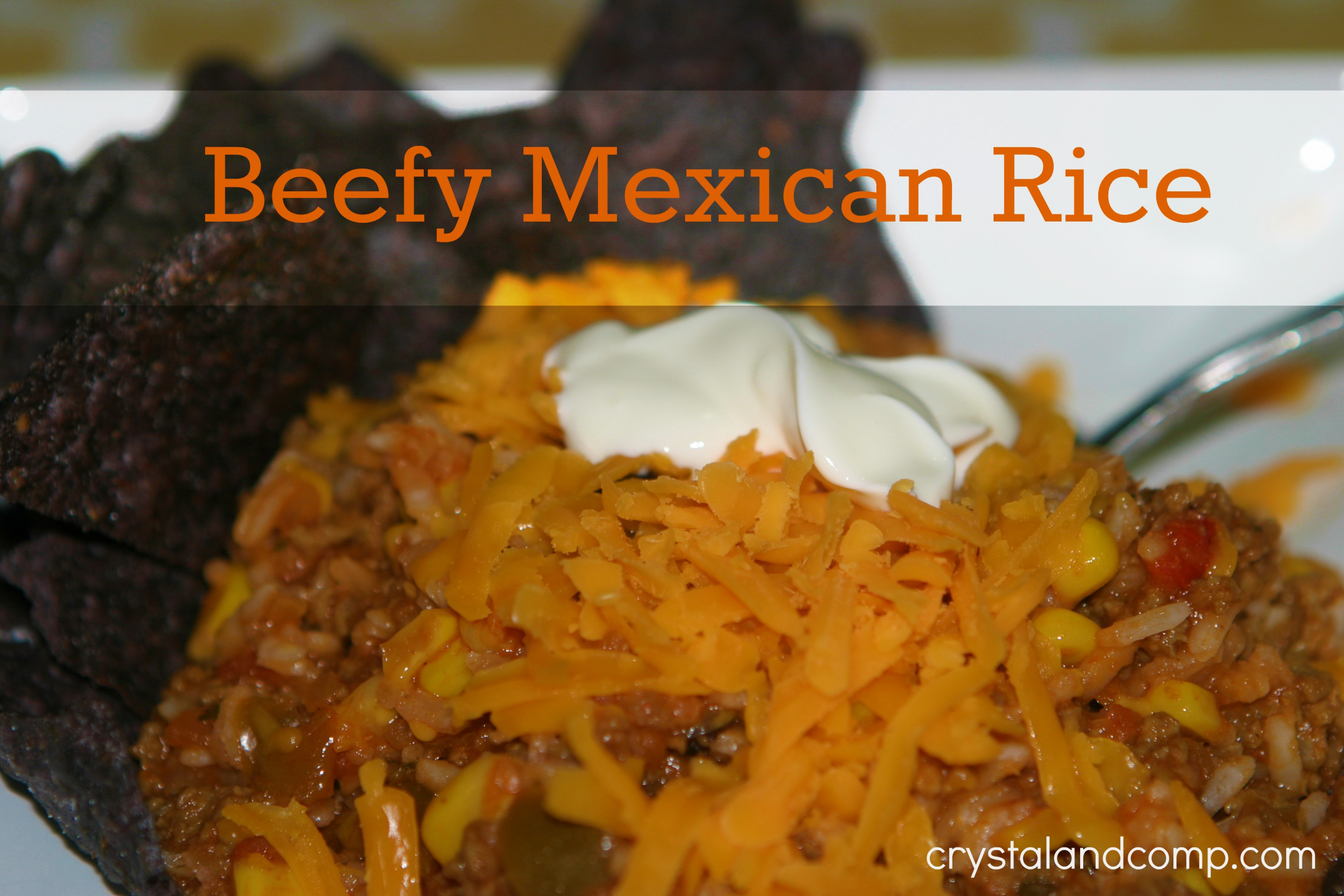 Easy Recipes: Beefy Mexican Rice (A Family Recipe …