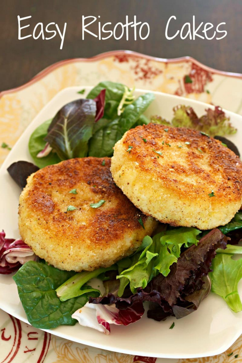 Easy Risotto Cakes | Tasty Ever After: Quick and Easy ...