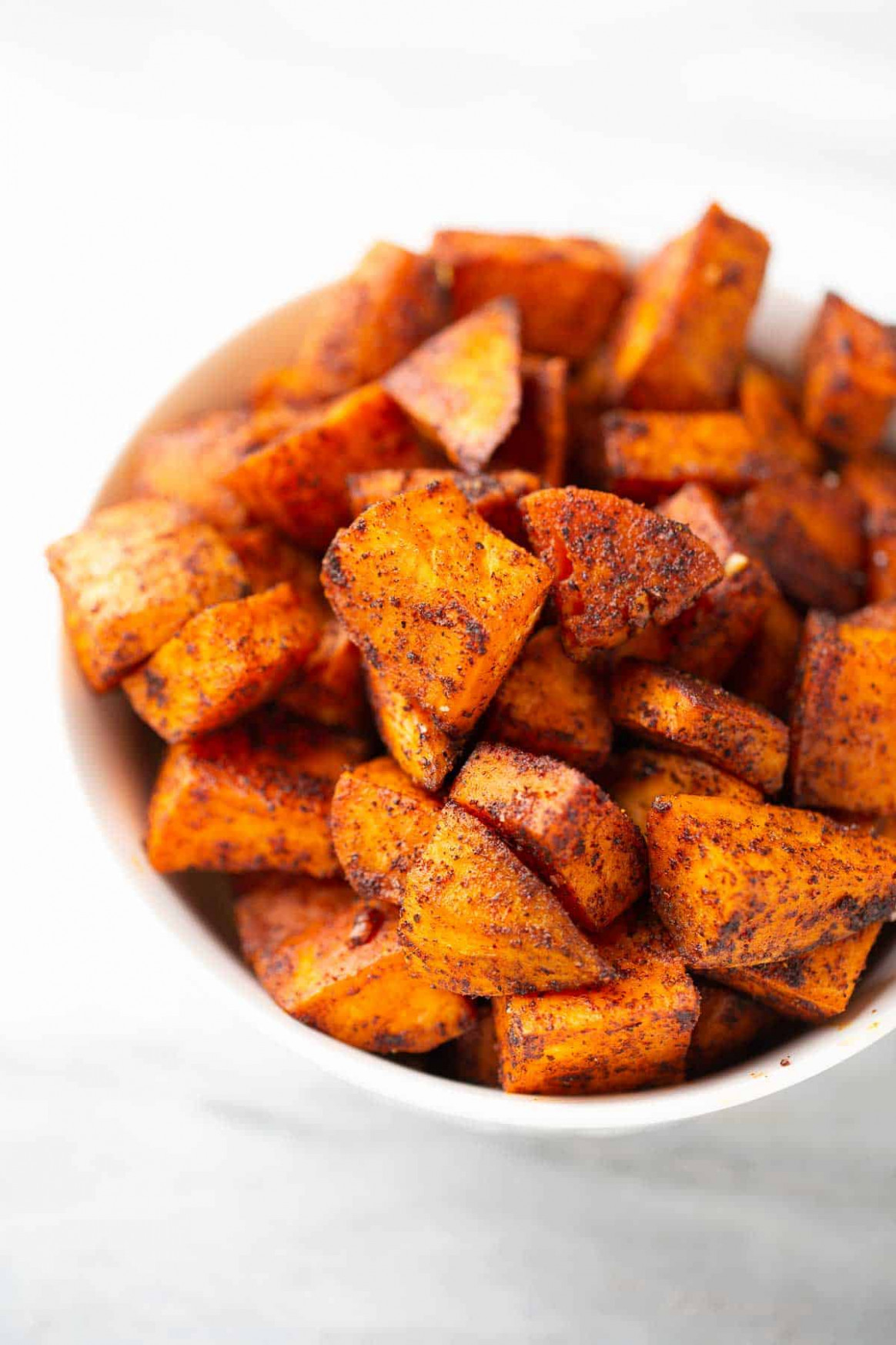 Easy, Roasted Sweet Potatoes - Meaningful Eats