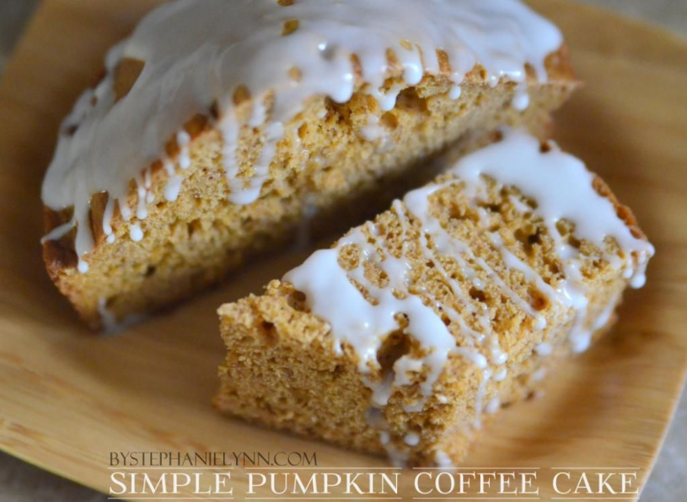 Easy Semi-Homemade Pumpkin Coffee Cake + 10 Simple Last ...