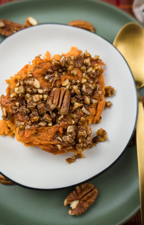 Easy Simple Healthy Sweet Potato Casserole Recipe - No ...