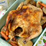 Easy Slow Cooker Whole Chicken With Vegetables Recipe