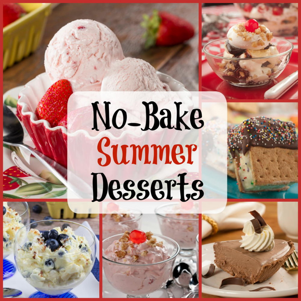 Easy Summer Recipes: 6 No-Bake Desserts | MrFood.com