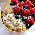 Easy, Sweet, Creamy, Customizable Healthy Oatmeal (Dairy Free)