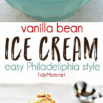 Easy Vanilla Bean Ice Cream