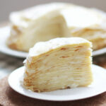 Easy Vanilla Crepe Cake Recipe | Recipes In 2019 | Crepe …