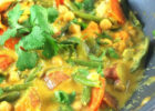Easy Vegetable Curry With Chickpeas | Recipe | Easy ...