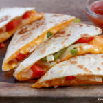 Easy Vegetable Quesadilla Recipe