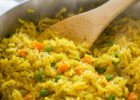 Easy Vegetable Rice Pilaf | I Wash You Dry