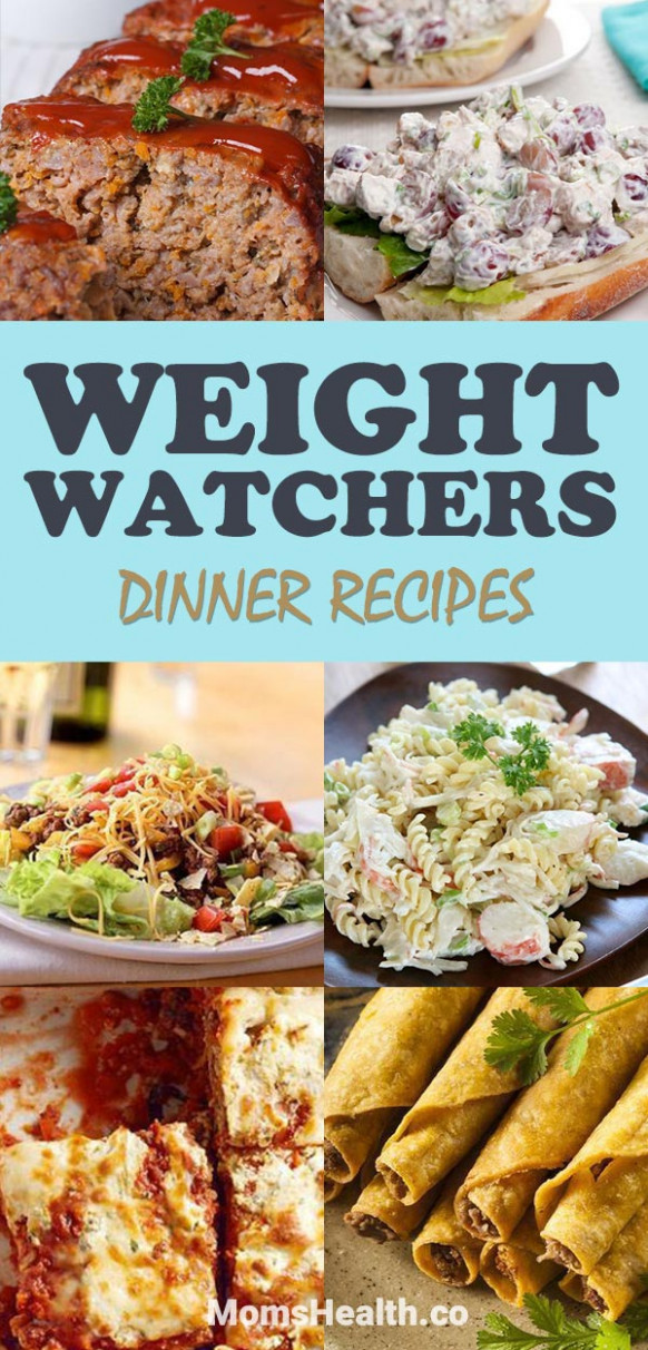 Easy Weight Watchers Dinner Recipes with Points ...