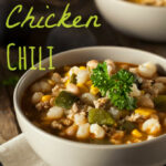 *EASY* White Chicken Chili Recipe - Kasey Trenum