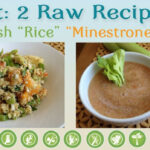 "Eat: 2 Raw Recipes: Spanish ""Rice"" & ""Minestrone"" Soup …"