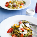 Eatsy: Summer Squash Pasta With Cherry Tomatoes And Pesto …