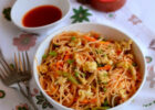 Egg Noodles Recipe How to make Egg Veg Noodles Indian ...