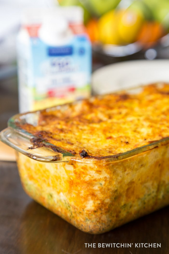 Egg Vegetable Casserole Bake | The Bewitchin' Kitchen