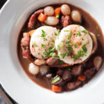 Eggs en Meurette (Poached Eggs in Red Wine Sauce) Recipe