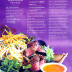 Entree – Rice Noodle Salad & Flank Steak 1990s