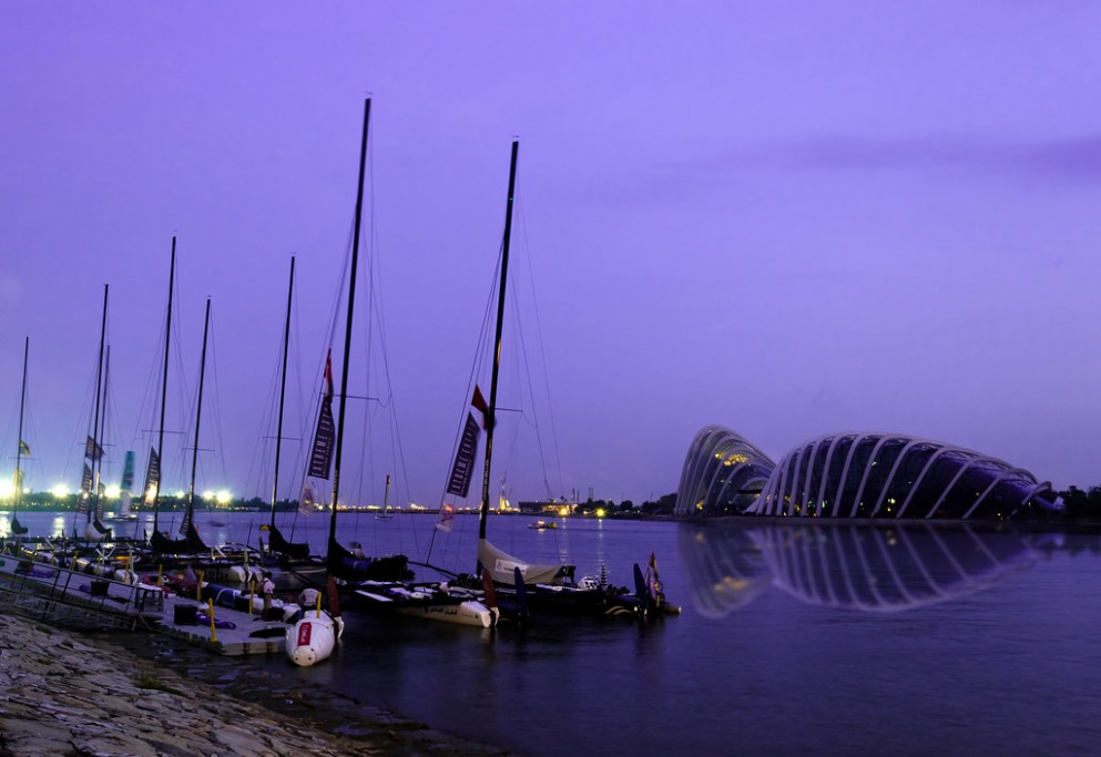 Extreme Sailing Series at Garden by the bay
