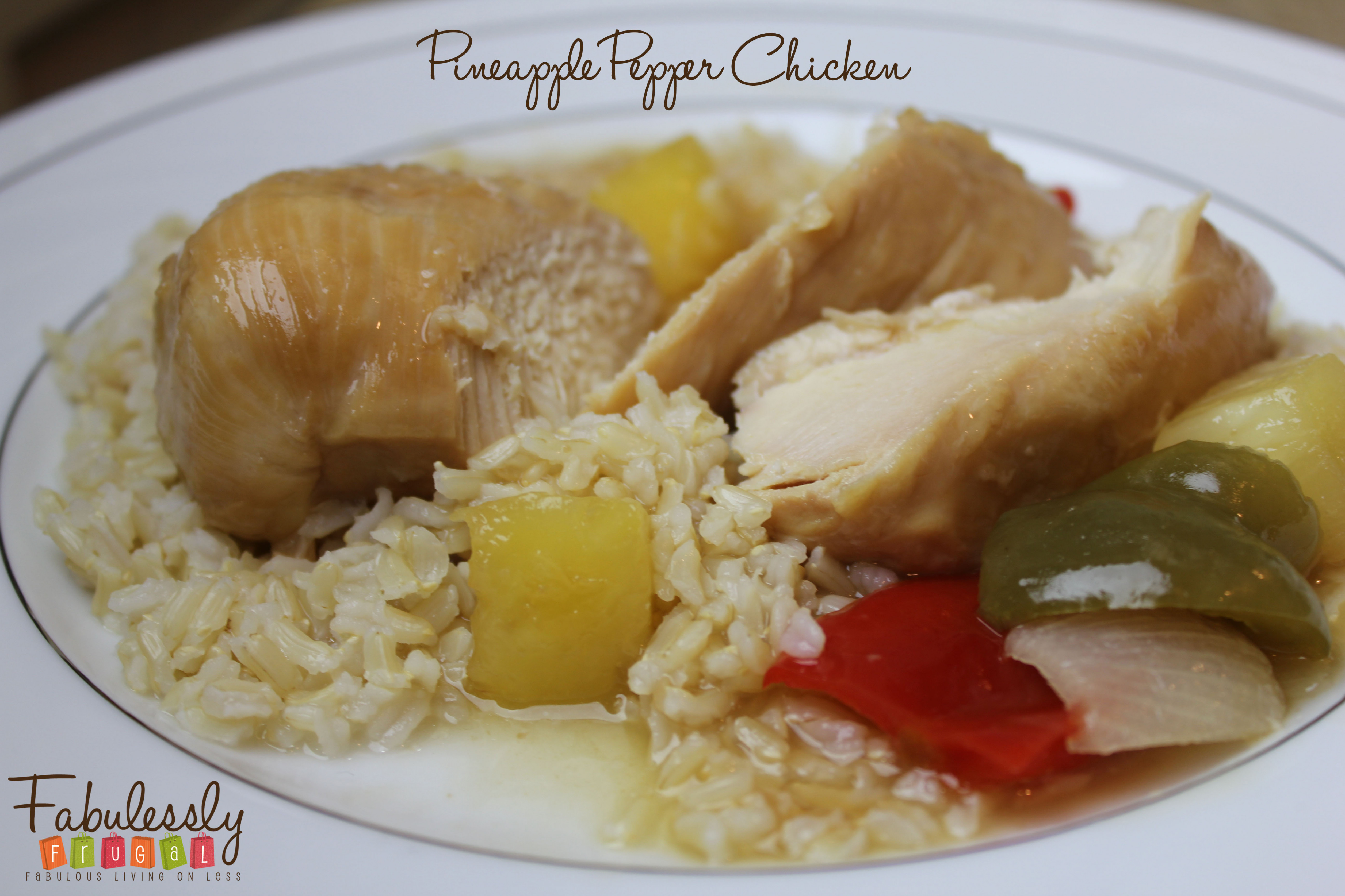 FabuLESS Freezer Cooking: Pineapple Pepper Chicken Recipes ...