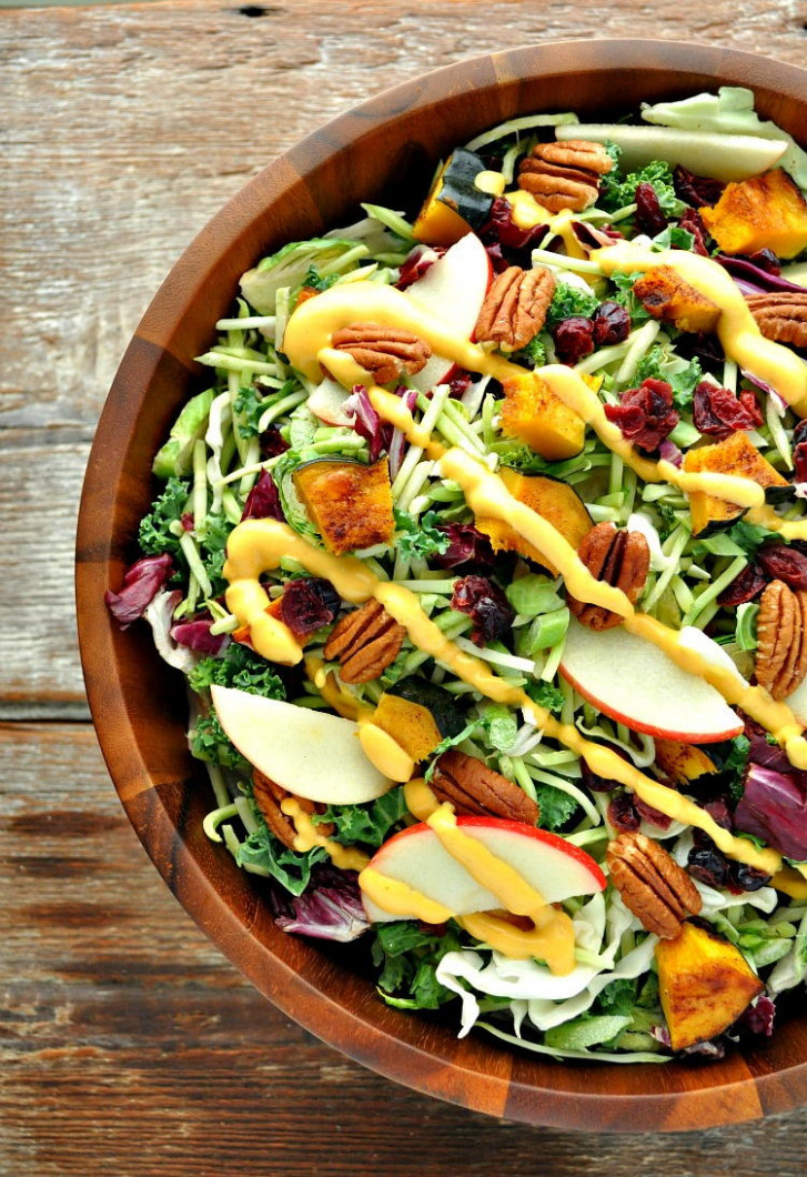 Fall Harvest Salad | FaveHealthyRecipes