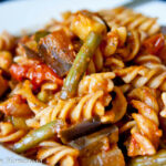 Fall Vegetable Pasta With Zucchini, Eggplant & Green Beans …