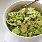 Farfalle Pasta With Chicken And Spinach Pesto | Food …
