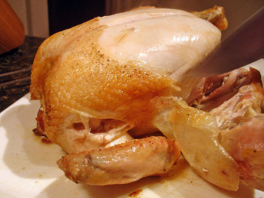 Fast and Easy Recipe For Roast Chicken in a Cast-Iron ...
