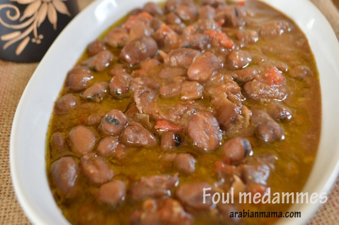 Fava Beans in Slow Cooker (Foul- ful- medames) | Amira's ...