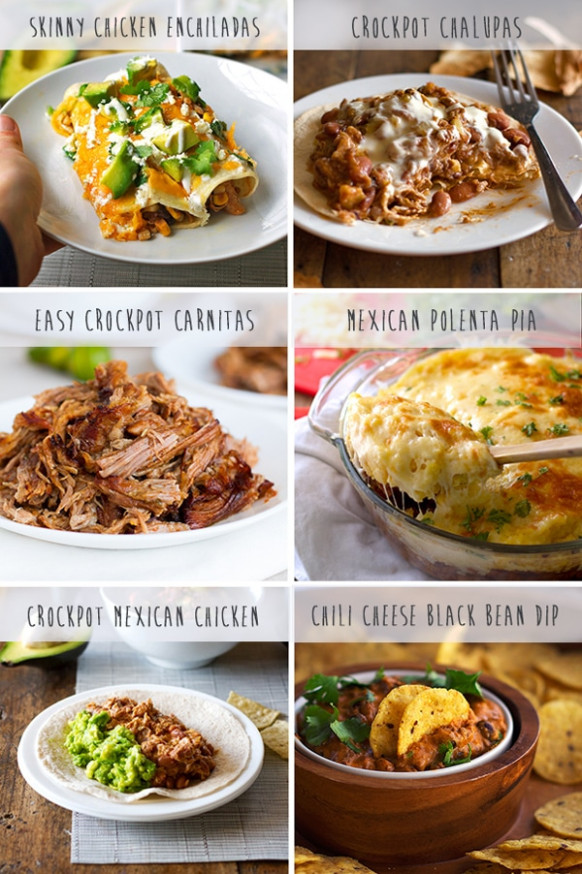 Favorite Mexican Crockpot Recipes - Pinch of Yum