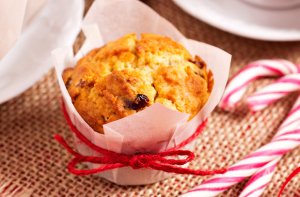 Festive spiced cranberry muffin recipe - goodtoknow