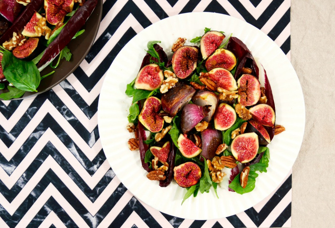 Fig Salad inspired by Yotam Ottolenghi – Spicy Candied Life
