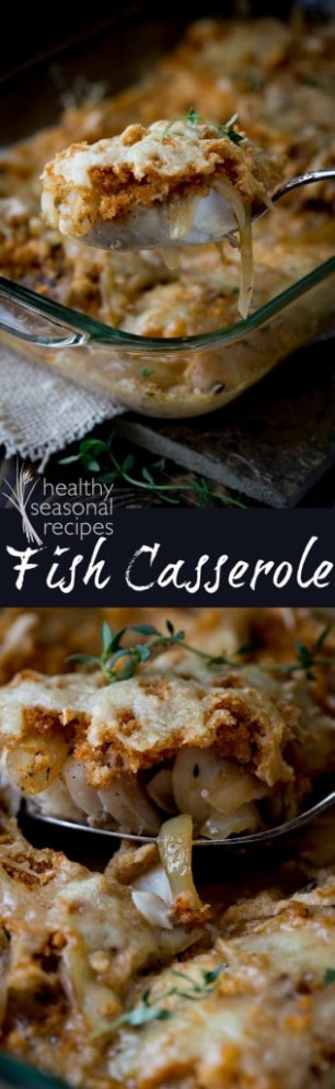 fish casserole - Healthy Seasonal Recipes