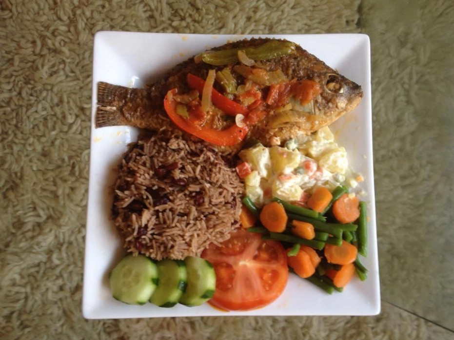 Fish dinner, Jamaican Style | Jamaica Style | Fish recipes ...