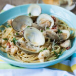 Florida Seafood Pasta In A White Wine Sauce Recipe