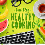 Food Blog, Healthy Cooking Recipes Online Stock …