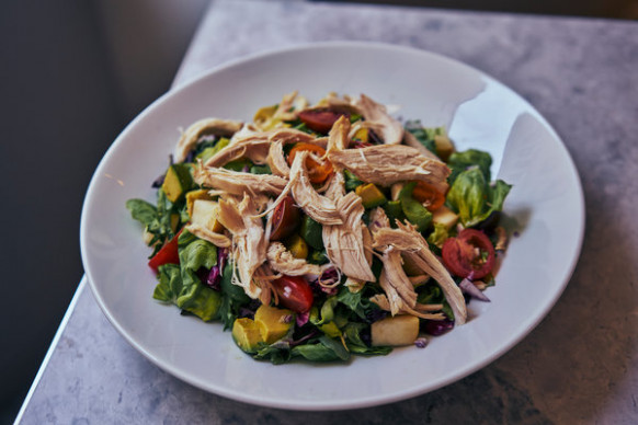 Freds' Chicken Salad With Balsamic Dressing Recipe - NYT ...
