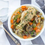 French Chicken In White Wine Sauce - Healthy with ...