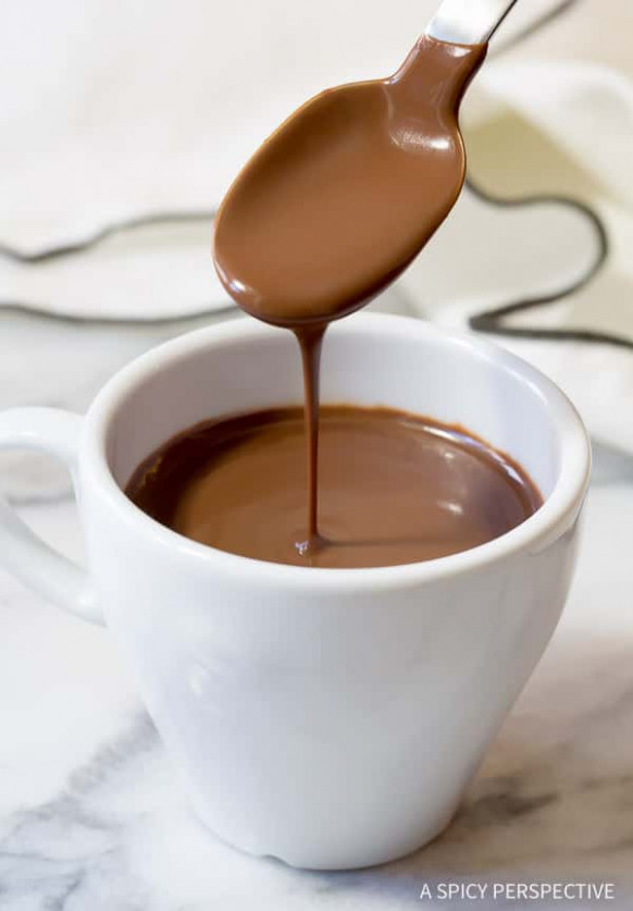 French Hot Chocolate Recipe - A Spicy Perspective