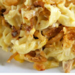 French Onion Chicken Noodle Casserole Recipe – Egg Noodles …