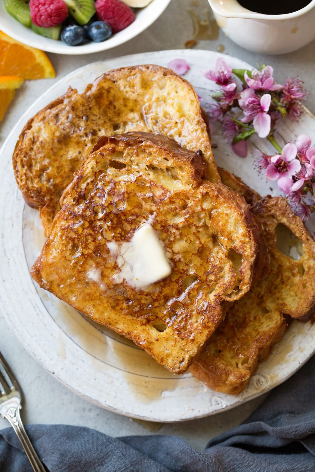French Toast Best Easy Recipe – Cooking Classy