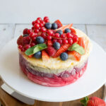 Fresh Fruit Frozen Yoghurt Layer Cake | Rezept | Sweets …