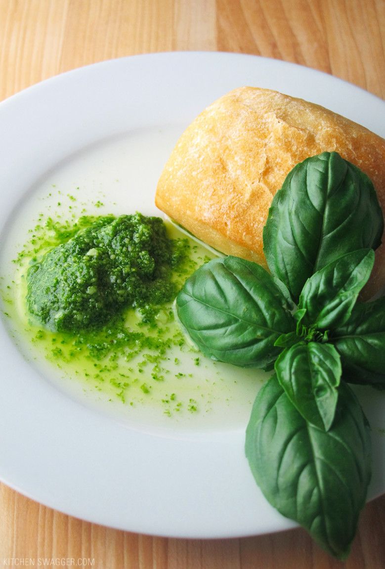 Fresh Homemade Basil Pesto Recipe | Kitchen Swagger
