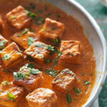 Fresh Indian Cheese In A Butter Tomato Sauce (Paneer …