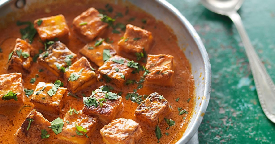 Fresh Indian Cheese in a Butter-tomato Sauce (Paneer ...