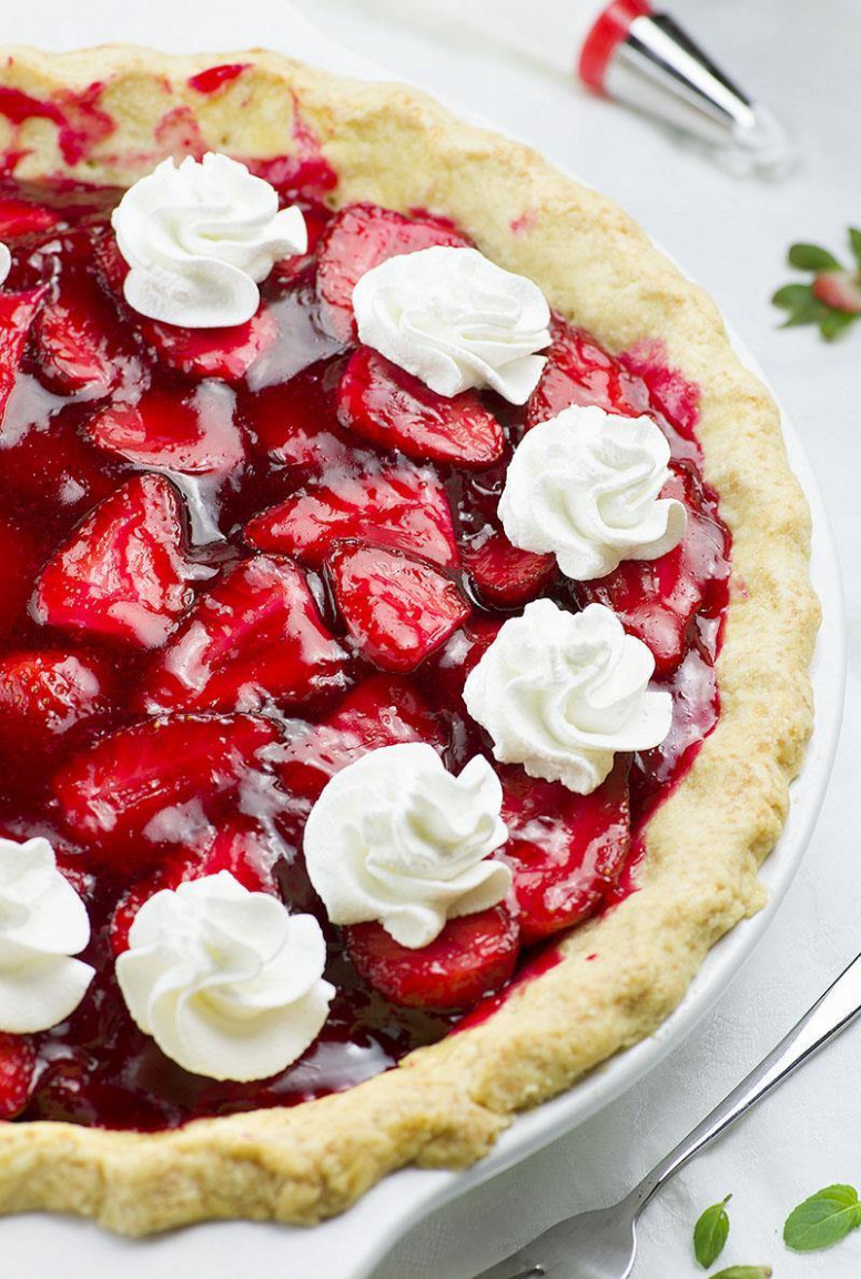 Fresh Strawberry Pie | Chocolate Dessert Recipes – OMG ...