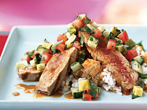Fresh Tuna Recipes - Cooking Light