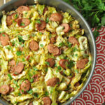 Fried Cabbage With Kielbasa – Low Carb, Paleo Gluten Free